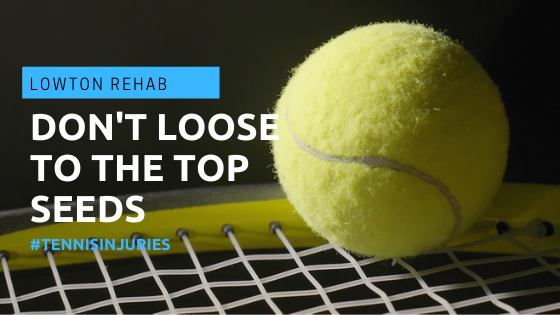 Don't let yourself be sidelined by Tennis injuries
