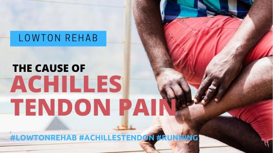 Achilles tendon pain running