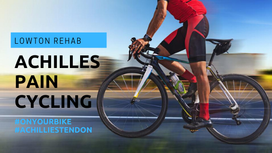 Achilles tendon pain cycling